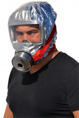 Cagoule protection respiratoire anti feu et fumées